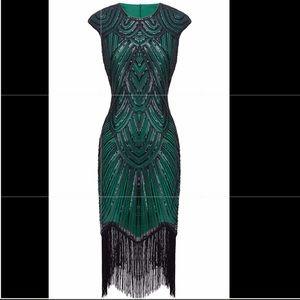 12794582b30f Dresses & Skirts - 1920s Sequined Flapper Dress